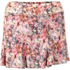 "Eliminate the competition in this Sofibella Blossom Tennis Skort from Tennis Express! This 13"" skort with internal shorts is constructed from quick drying, anti-bacterial microfiber that will perform just as hard as you do on the court. Sofibella's Blossom printed fabric coordinates with any of the Sofibella petal pink, white, or stone tops, tanks and jackets, making this a smart choice for your tennis wardrobe!"