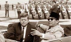presiden-soekarno-dan-kennedy-AS