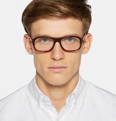 8eff874670d85 Kingsman - + Cutler and Gross Square-Frame Tortoiseshell Acetate Optical  Glasses