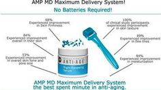"""AMP MD Roller ... Bye Bye BOTOX!!!  Order NOW and get a FREE 60 Day Supply of our """"Lip Renewing Serum""""!!!    https://judylawson.myrandf.biz/Shop/Product/AASS001"""