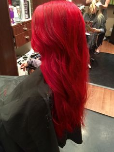 Top Rated Red Hair Color Models - Red hair color and shades, which are highly preferred today, can be said to be a color that is almo - Magenta Hair Colors, Bright Red Hair, Hair Color Blue, Cool Hair Color, Red Color, Dyed Red Hair, Pink Hair, Best Hair Stylist, Beautiful Red Hair