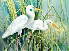 ahrimp boats painted in watercolor   Kathleen Noffsinger's Watercolor Gallery