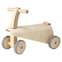 Muji wooden ride on car / 乗用玩具 くるま_12AW 対象年齢1.5歳以上 | 無印良品ネットストア