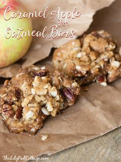 Caramel Apple Oatmea
