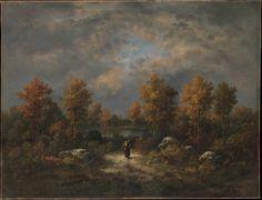 Autumn: The Woodland Pond  Artist:Narcisse-Virgile Diaz de la Peña (French, Bordeaux 1808–1876 Menton) Date:1867