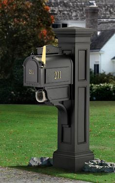 Mayne Liberty 4 x 4 Black Polymer Mailbox Post at Lowe's. Create a striking, distinctive look with the Mayne Liberty Mail Post. Mayne's Mail Posts are crafted from high grade polyethylene for