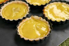 Hong Kong Egg Tarts.  Appeared in tea restaurants in Hong Kong in the 1940s.  #16 on CNN Go's list of World's 50 Most Delicious Foods.