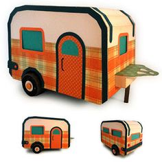 Needles 'n' Knowledge: Camper 3d Trailer Model Assembly Guide
