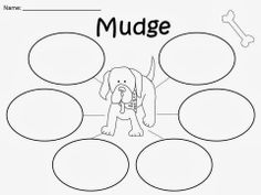 Free:  Henry And Mudge by Cynthia Rylant Mudge Bubble Map.  For Educational Purposes Only: Not For Profit. For A Teacher From A Teacher! Enjoy! Regina Davis aka Queen Chaos at www.fairytalesandfictionby2.blogspot.com