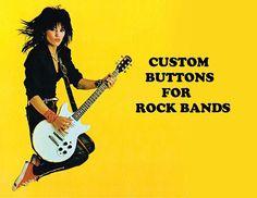 Custom Buttons for Rock Bands!   #makeyourbandbuttons #badges #pins #heavymetal #punk #deathmetal #blackmetal