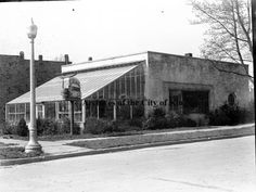 Backer Brothers Flowers was located on East Charlemont Avenue at the corner of Watauga Street. David W. Backer and Steve Backer were the owners.