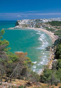 Peschici bay, Apulia region, Foggia province, Gargano, Open South Project