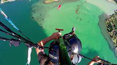 colors amazing over the como lake