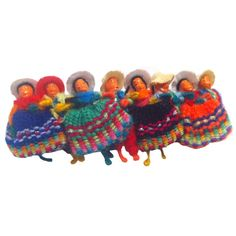 Bolivian worry dolls