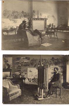 Eliseo Meifrén en su estudio.