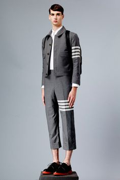 Thom-Browne-SS15-Lookbook_fy4 Oohh... school boys are coming back into style! Go Angus Young!