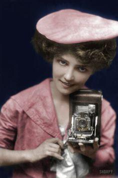 "February 17, 1909. ""No. 28 -- The Kodak Girl."""