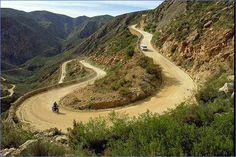 Swartberg Pass, Garden Route nabij Oudtshoorn Zuid Afrika