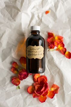 DIY: massage oil with 6 essential oil blends