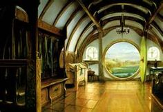Entrance to Bag End by John Howe