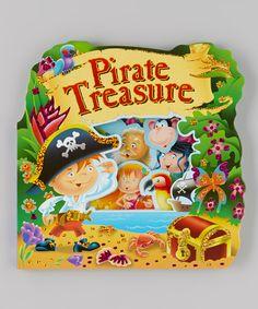 Pirate Treasure Window Board Book