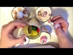 Decorated Tin Cans - YouTube