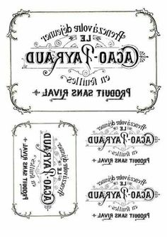 papel transfer itd Wax Paper Transfers, Transfer Paper, Sign Stencils, Stencil Art, Make Your Own Labels, Potion Labels, Etiquette Vintage, Motif Vintage, Foto Transfer