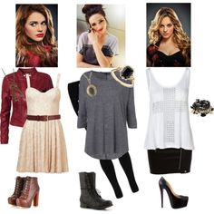 Teen Wolf inspired outfits. Especially love the Lydia and Allison boots.