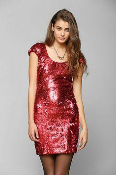 Dress The Population Gabriella Sequin Dress