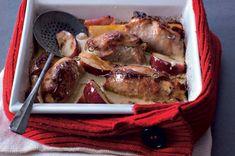 Vepřové závitky s jablky a křenem French Toast, Pork, Meat, Chicken, Breakfast, Kale Stir Fry, Morning Coffee, Pork Chops, Cubs