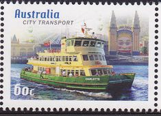 Charlotte, one of the more recent Sydney Harbour ferries.