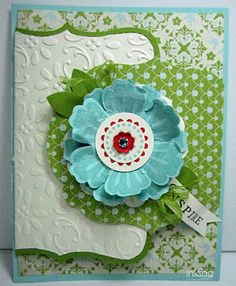 another awesome mixed bunch card, Jodi this reminds me of the card you made yesterday