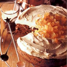 Chocolate, Ginger and Walnut Cake Recipe : Cooking.com Recipes