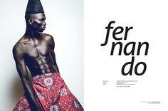 Fernando Cabral for Australian Mag Fashion Trend
