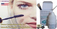 Buy Careprost Eye Drops 0.03 (Bimatoprost) from our eminent med portal and keep making people jealous of your beautiful eyelashes. Careprost eye drops 0.03 (Bimatoprost) is a magical remedy for the management of hypotrichosis of eyelashes or insufficient eyelashes and made its involvement in the growth of long, thick and dark eyelashes.Order Now and get the product shipped to your doorway!
