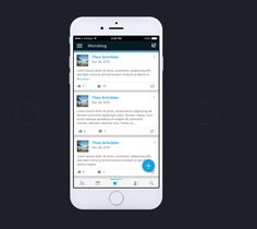 Mobile Microblog Concept, App, Technology, Iphone, Projects, Design, Tech, Log Projects, Blue Prints