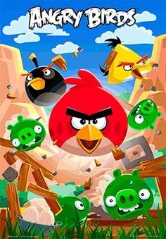 angry birds posters - Google Search