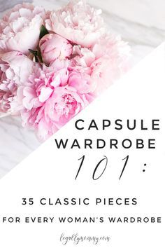 "Do you find yourself feeling flustered, frumpy or otherwise less than fantastic when you get ready in the morning? Have you always wondered what a 'capsule wardrobe' is, but don't know where to begin? Are you working your way through your household clutter and looking for a way to reduce decision fatigue? Or, are you trying to find your ""style""?"