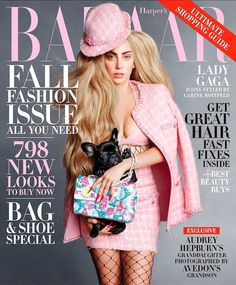 Lady Gaga - Harper's Bazaar Magazine Cover [United States] (September 2014)
