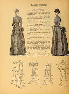 1 What We Did When The Power Went Out (Sewing In Walden): Ladies' Costume IV 1888