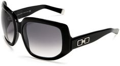 DSQUARED2 Women's DQ0020 Resin Sunglasses,Black Frame/Gradient Smoke Lens,one size DSQUARED2. $120.00