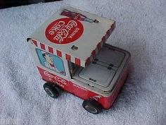Coca Cola Tin Wind Up Toy