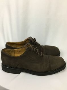 cole haan men s shoes size 11D gray suede very good condition  fashion   clothing   bd30135f6