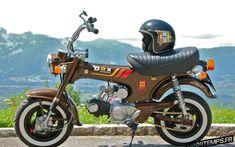 Le Honda Dax ST70 de Gromalex