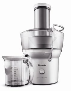 Breville BJE200XL Compact Juice Fountain 700-Watt Juice Extractor: Amazon.com: Home & Kitchen - Maybe I'll try juicing?