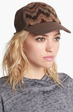 "Cute ""baseball"" hat - great for casual weekend wear."