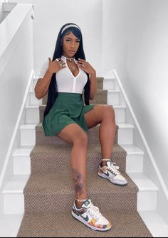 Boujee Outfits, Cute Swag Outfits, Chill Outfits, Curvy Outfits, Dope Outfits, Teen Fashion Outfits, Simple Outfits, Black Girl Fashion, Cute Fashion