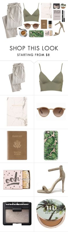 """""""Girls can do anything."""" by andreavc ❤ liked on Polyvore featuring Wrap, Ray-Ban, Royce Leather, Casetify, Steve Madden, NARS Cosmetics, Urban Decay and Napoleon Perdis"""