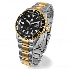 """Herrenuhr Carucci """"Diver"""", bicolor, gold"""