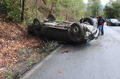 Ανατροπή αυτοκινήτου στο Ωραιόκαστρο-Ένας τραυματίας (vid) > http://arenafm.gr/?p=301826